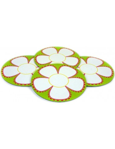 Set of 4 Flowers of Sounds Trays 2