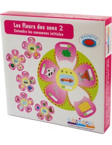 boîte du jeu de phonologie fleur des sons 2 les consonnes